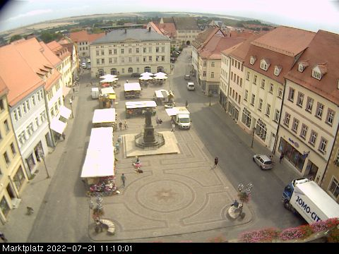 Die Webcam in Hedersleben.